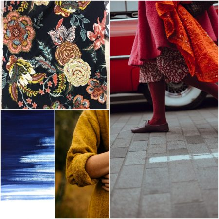 Colours and prints for winter 2017/2018